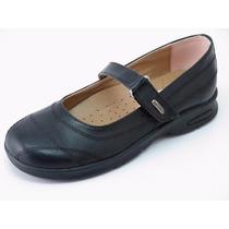 Excelentes Zapatos Escolares Eco Cuero Santorinis-nuevos