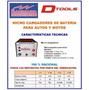 Cargador Baterias C-5 Para Moto 6 Y 12 V 2 Amp Mecanic