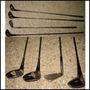 Lote De 4 Palos De Golf Spalding Hogan 3 Y 5 Gigante Wilson