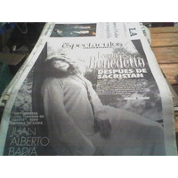 Diario Clarin 15 Mayo 1995 Leonor Benedetto Juan A. Badia