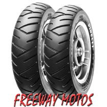 Cubierta Pirelli 350-10 Sl 26 Scooter Elite En Freeway Motos