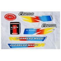 Calco Guerrero Econo 50-kit Completo