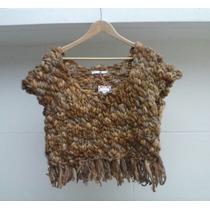 Chaleco Tejido A Mano Lana Oveja - Sweaters Diseños Tejidos