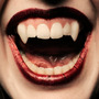 Colmillos Vampiro Sin Paladar Prótesis Dentales Acrilico