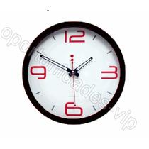 Reloj De Pared Analogo 20cm Gran Calidad Excelente Estetica
