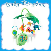 Movil Cunero Fisher Price Rainforest.jugueteria Baby Kingdom