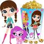 Kit Imprimible Littlest Pet Shop Cotillon Y Candy Bar 2x1