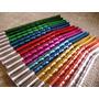 30 Bombillas Color Anodizadas Niqueladas Pack 30 Unidades