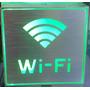 Cartel Led Wi Fi De Metal Aluminio *premium