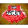 Short Para Niños Muay Thai - Kick Boxing - Marca Rihen - Mma