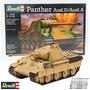 Panther Ausf.d Maqueta Tanque Armar Revell 3107 Escala 1/72
