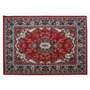Alfombra Diseño Persa Roja - 185 X 275 Cm