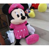 Minnie Mouse Peluche Importado Gigante 65cm De Altura