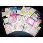 10 Planchas Stickers Decoración Uñas Nail Art A Elección