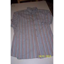 2 Camisas Manga Corta T 44 Una New-man Y Otra Perdomo