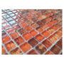 Malla - Mosaico - Venecitas De Vidrio 30x30 - Capri Rojo