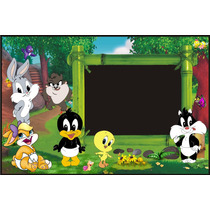 Banner Infantiles-baby Looney Tunes-murales-cumpleaños