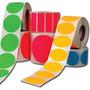 Etiquetas Autoadhesivas Color 2000 Unidades