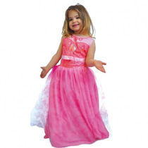 Disfraz Barbie Pop Star Rosa Talle 2