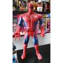 Muñeco Spiderman - Hombre Araña Articulado Luz Sonido 38 Cm