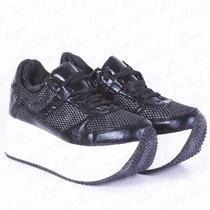 Zapatilla Sneakers Con Plataforma Modelo Pam De Shoes Bayres
