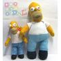 Peluche Homero Simpson Gigante 65cm Fotos Reales Miralo