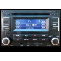 Estereo Vw Bora Linea Nueva 2013/14 Usb Bt Sd Aux Mp3!!!!!!