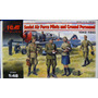 Italeri 1/72 48084 Soviet Air Force Pilots And Ground Perso