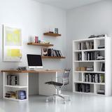 Combo Set Oficina + Escritorio + Biblioteca + Estantes
