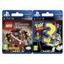 Toy Story 3 + Lego Piratas Del Caribe Ps3 Digital- Omniplay