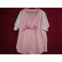 Casaca Baseball De Mujer Boston Red Sox Rosa Mlb