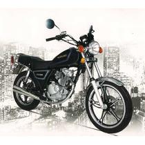 Suzuki Gn 125 - Oferta Julio -promo Visa Cuotas Sin Interes.