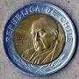 Chile 500 Pesos 2002 - S/c - Alto Valor De Catálogo