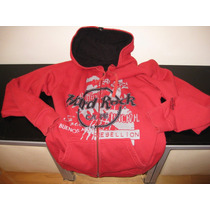 Campera Con Capucha Hard Rock Cafe No Gap