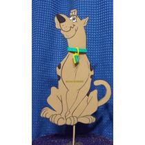 Adorno Pinche Torta Scooby Doo Goma Eva. 24 Cm X 15 Cm