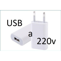 *** Enchufe Entrada Usb A 220v Pared Tablet Iphone Ipod ***