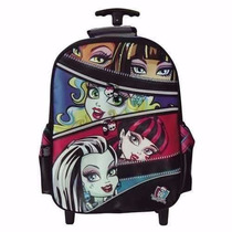 Mochila Carro Monster High 18 Pulgadas - Mundo Team