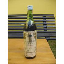 Antigua Botella De Vino Aperitivo *xerez Quina Ruiz* Llena!!