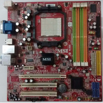 Msi K9agm3-f - Am2 - Ati 690g - Para Phenom - 4 Slots Ddr2