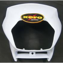 Cupulina Mascara Honda Xr 125 L Blanca En Xero Racing Motos