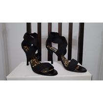 Sandalias Stilettos Con Elastico