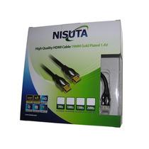 Cable Hdmi A Hdmi 20m V1.4 Alta Calidad Nisuta Ns-cahdmi20mc