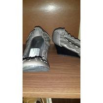 Zapatos Taco Chico Gris Con Tachas Prune 38