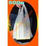 500 Bolsas Tipo Camiseta Chica 30x40 Resistentes