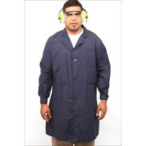 Guardapolvo Azul Polyester P/ Colegio Técnico/industrial