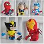 The Avengers - Los Vengadores - Muñecos Peluche Marvel 20 Cm