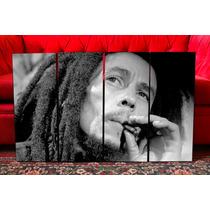 Cuadros Polipticos Modernos Bob Marley - Musica Y Decoracion