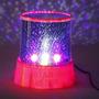 Luz De Noche Velador Proyector De Estrellas A Pila Y Usb