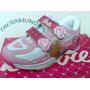 Zapatillas Barbie Ben10 Kitty Y Angry Birds Con Luces