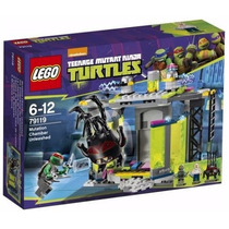 Lego 79119 Tortugas Ninja Mutation Chamber Unleashed Riginal